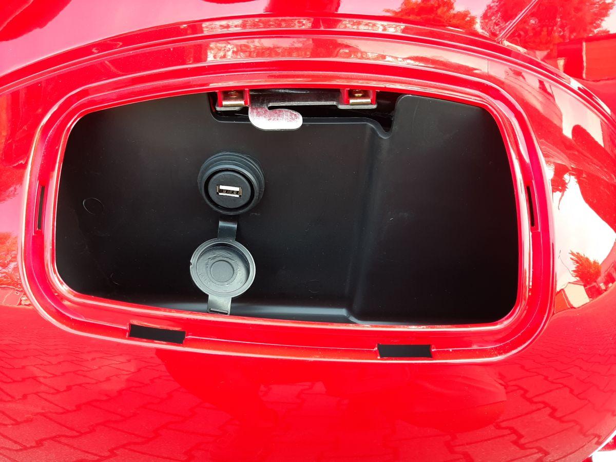 Elektroroller Sexi Ginabella Reichweite bis 120KM 2800-120 rot Bild 9