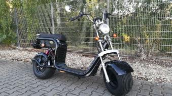 Elektroroller edi Chopper Harley 2-1500 schwarz Bild 1