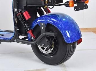 Elektroroller edi Chopper Harley 2-1500 schwarz Bild 13