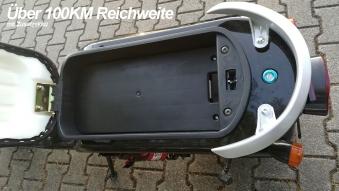 Elektroroller edi Chopper Harley 2-1500 schwarz Bild 6