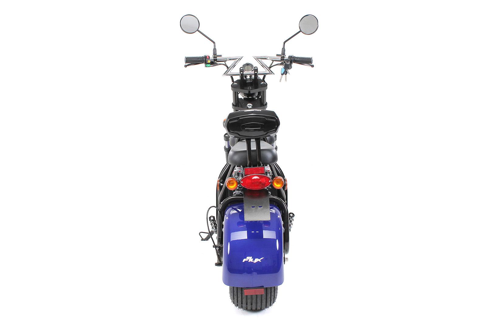 Elektroroller edi Chopper Harley Two 1500W blau Bild 6