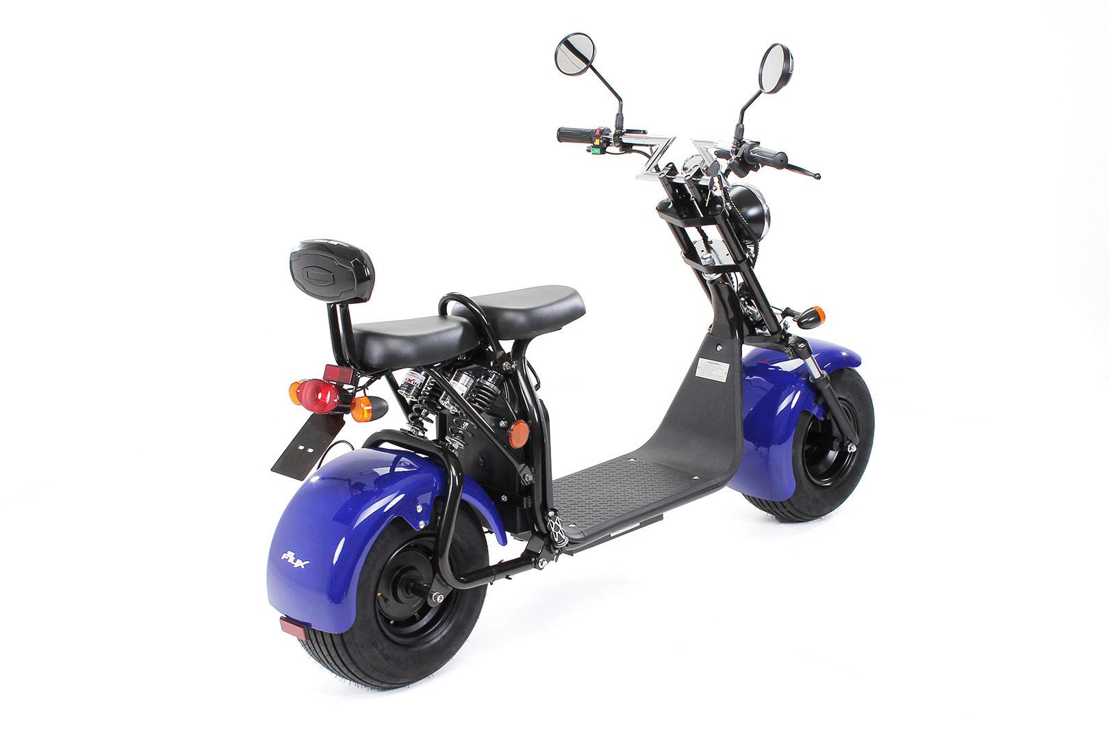 Elektroroller edi Chopper Harley Two 1500W blau Bild 7