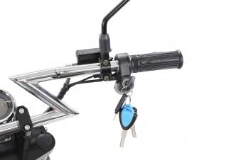 Elektroroller edi Chopper Harley Two 1500W blau Bild 17