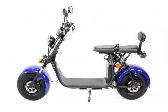 Elektroroller edi Chopper Harley Two 1500W blau Bild 4