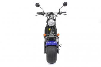 Elektroroller edi Chopper Harley Two 1500W blau Bild 10
