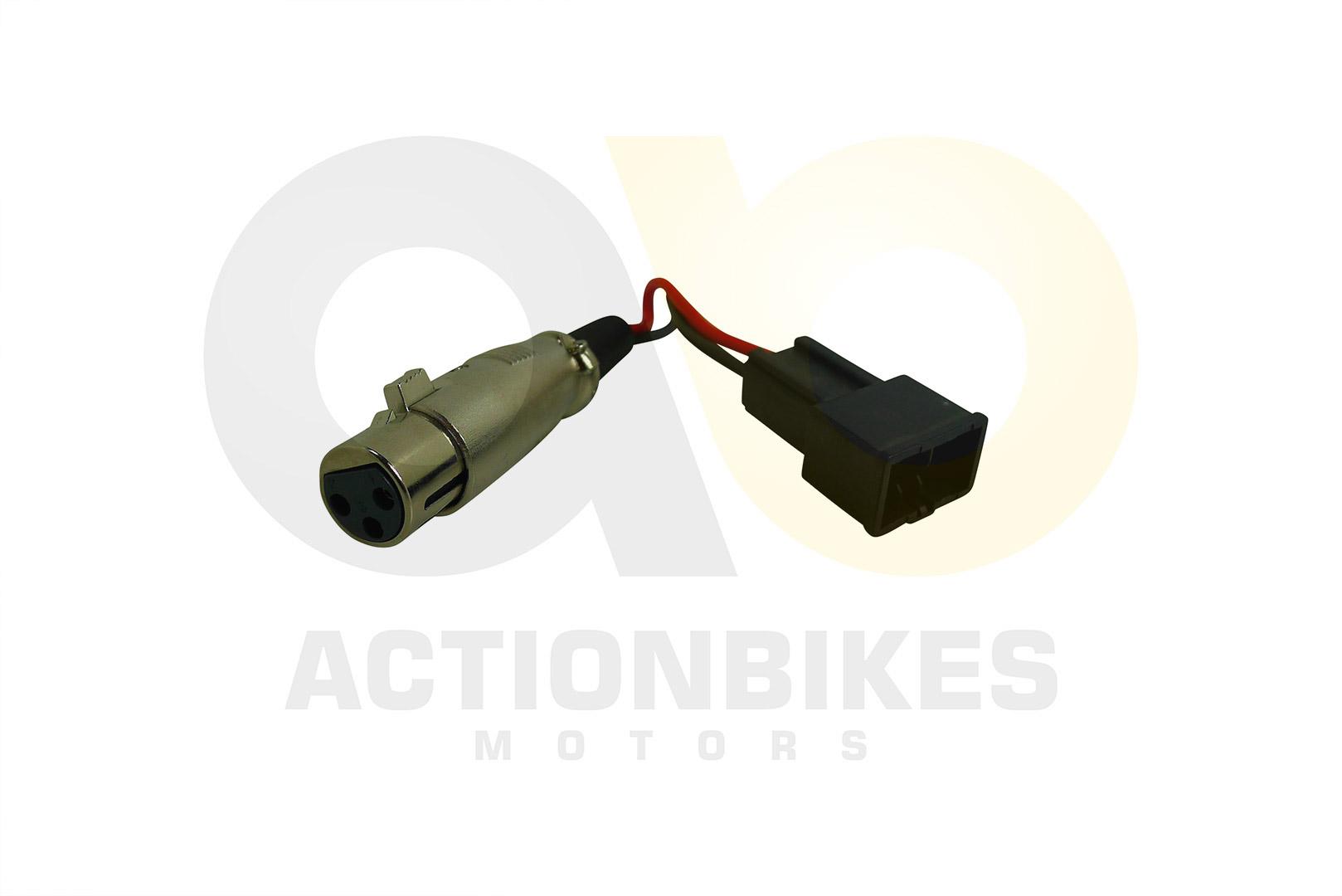 Ladestecker für Batteriepack eFlux Externer Bild 1