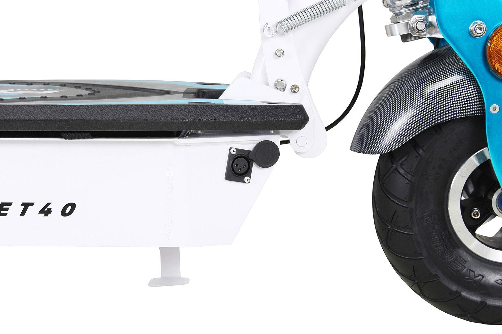 Mister ED Elektroroller S40 weiss mit Zulassung / E-Roller mit Sitz Bild 13