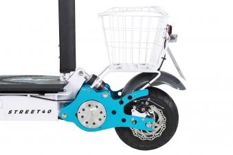 Mister ED Elektroroller S40 weiss mit Zulassung / E-Roller mit Sitz Bild 11
