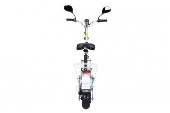 Mister ED Elektroroller S40 weiss mit Zulassung / E-Roller mit Sitz Bild 3