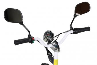 Mister ED Elektroroller S40 weiss mit Zulassung / E-Roller mit Sitz Bild 5