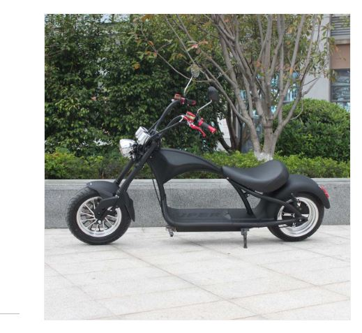 Mr. Harley Elektromotorrad  City Cruiser Electromoped schwarz 25 Bild 1