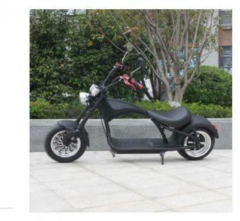 Mr. Harley Elektromotorrad  City Cruiser Electromoped schwarz Bild 1