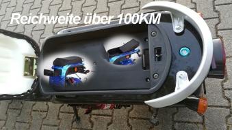 Zusatz Akku 60V 20Ah für E-Chopper Harley 2-1500 Bild 3