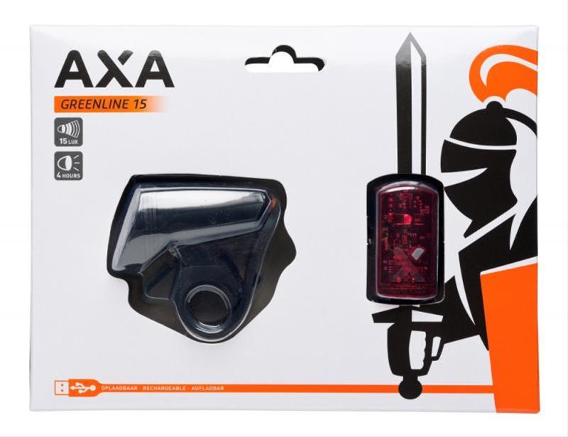 Batteriebeleuchtungsset Axa Green Line 15 Lux / 1 LED Bild 1