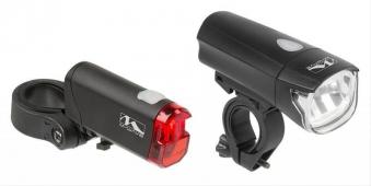 Batteriebeleuchtungsset M-Wave 30/15 Lux Bild 1