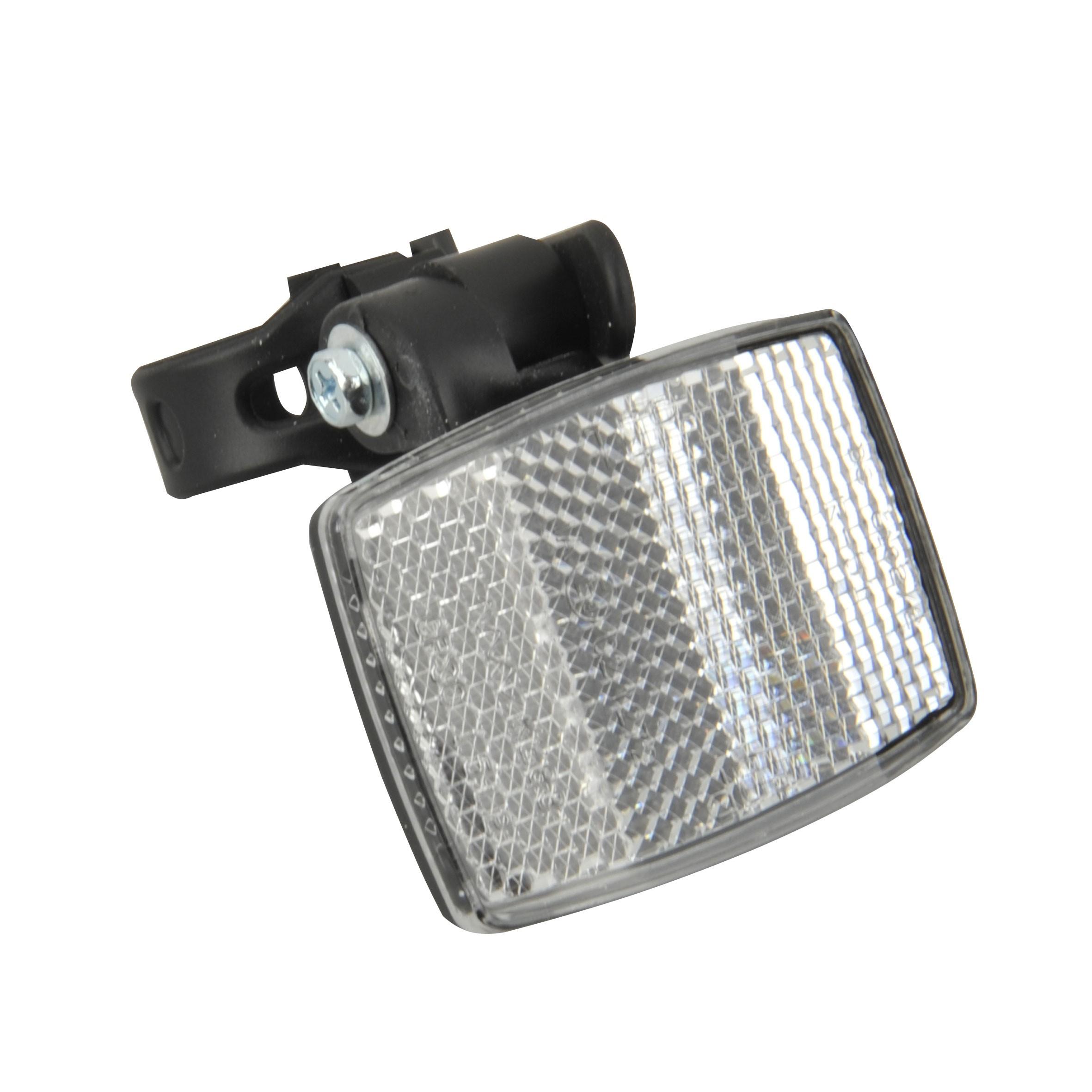 Fischer Fahrrad Reflektoren / Front-Reflektor für Vorbaubefestigung Bild 1