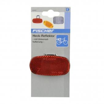 Fischer Fahrrad Reflektoren / Heck-Reflektor mit Universalhalterung Bild 2