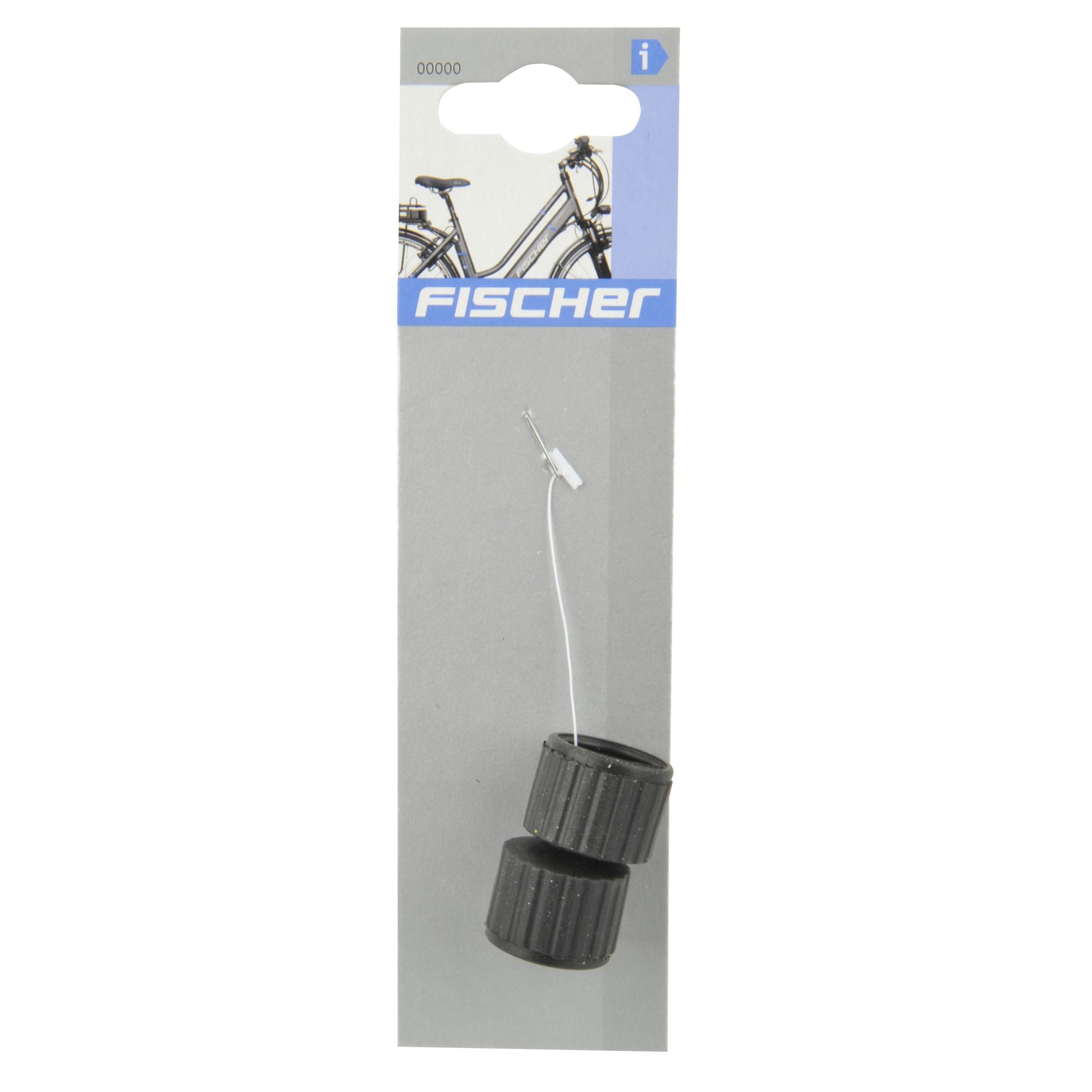 Fischer Fahrradbeleuchtung Dynamo / Reiberollen für Dynamo 2 Stück Bild 2