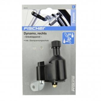 Fischer Fahrradbeleuchtung / Dynamo rechts 6 Volt / 3 Watt Bild 2