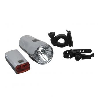 Fischer Fahrradbeleuchtung / LED Leuchten-Set 20/10 Lux Bild 1