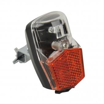 Fischer Fahrradbeleuchtung mit Dynamo / LED Rückleuchte mit Standlicht Bild 1