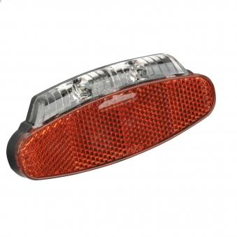 Fischer Fahrradbeleuchtung mit Dynamo LED Rückleuchte mit Z-Reflektor Bild 1