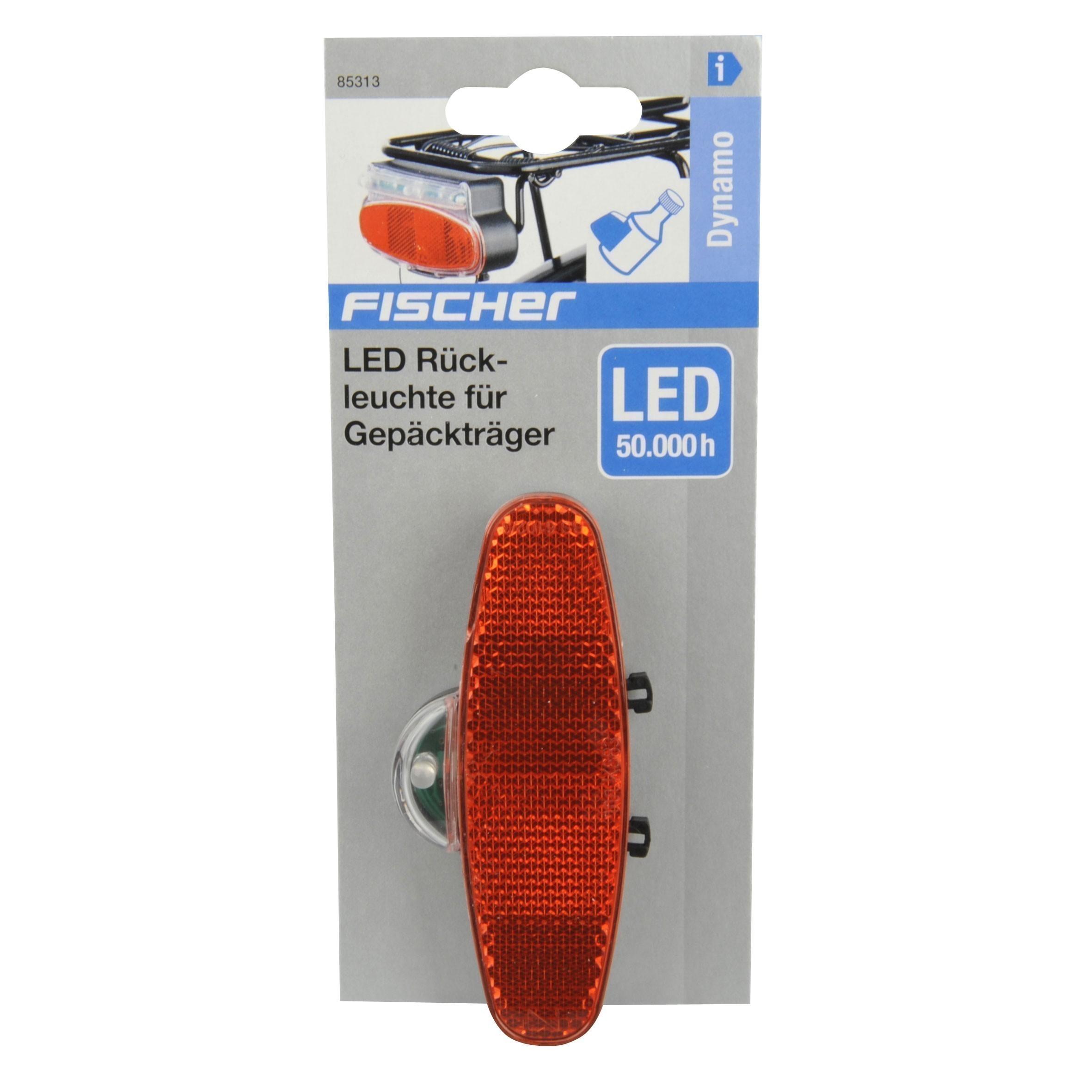 Fischer Fahrradbeleuchtung mit Dynamo / LED Rückleuchte Bild 2
