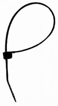 Kabelbänder Länge 180mm 100 Stück Bild 1