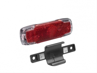 LED-Dynamo-Rücklicht / Gepäckträgerrücklicht Toplight Light DC Bild 1