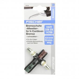 Fischer V-Brake Bremsschuhe Allwetter Bild 2