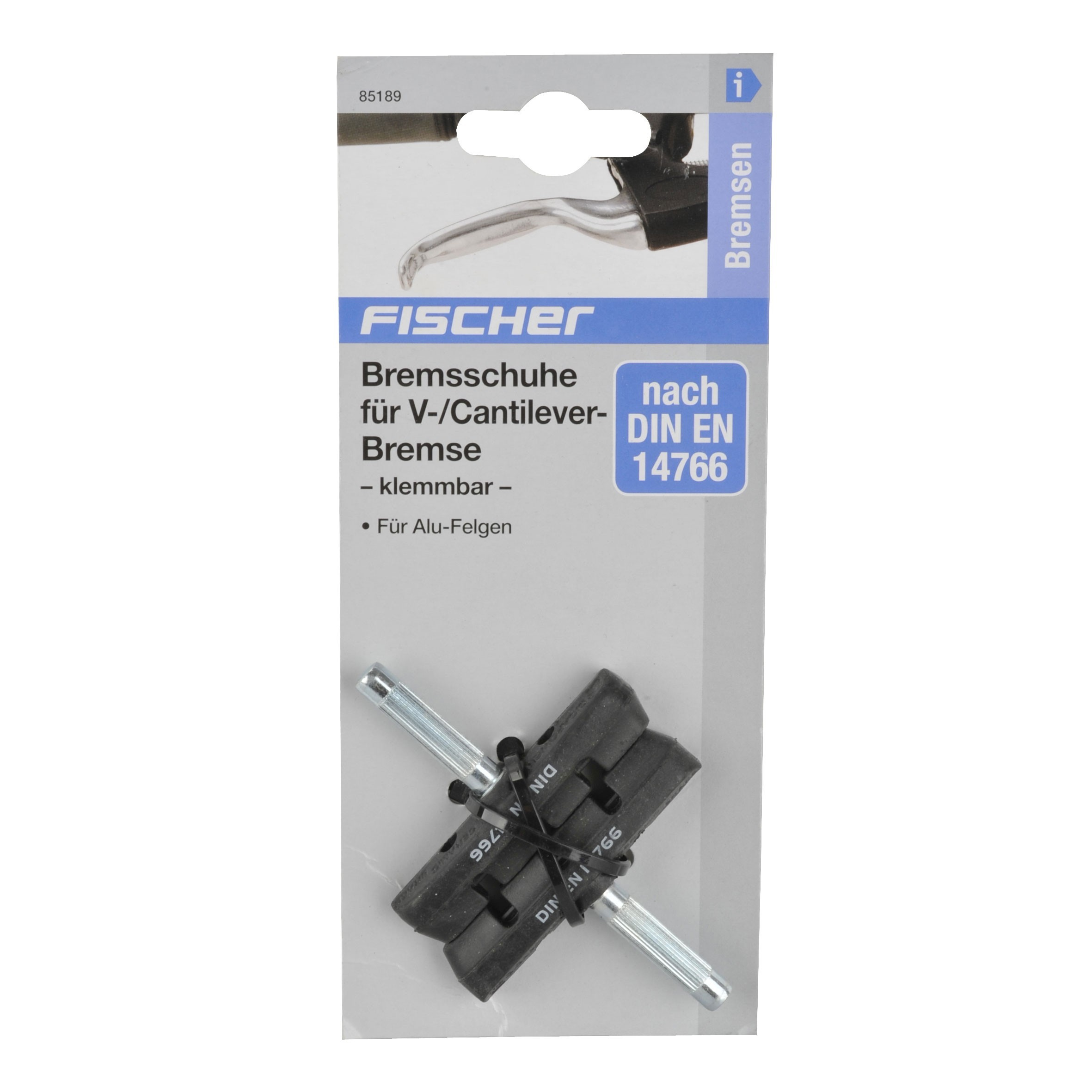 Fischer V-Brake Bremsschuhe Keramik klemmbar Bild 2