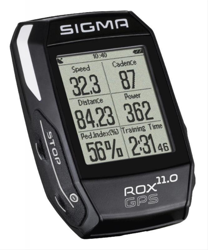 Computer Sigma Sport Rox 11.0 GPS Black Bild 1
