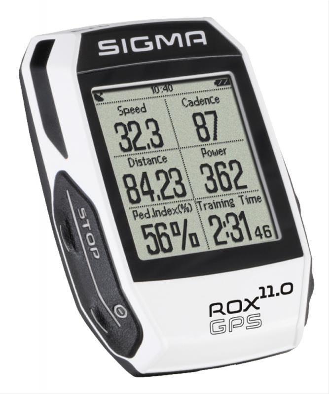 Computer Sigma Sport Rox 11.0 GPS White Bild 1