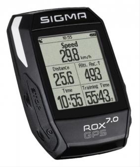 Computer Sigma Sport Rox 7.0 GPS Black Bild 1