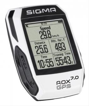 Computer Sigma Sport Rox 7.0 GPS White Bild 1