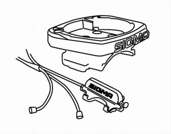 Universalhalter Sigma mit Kabel Bild 1