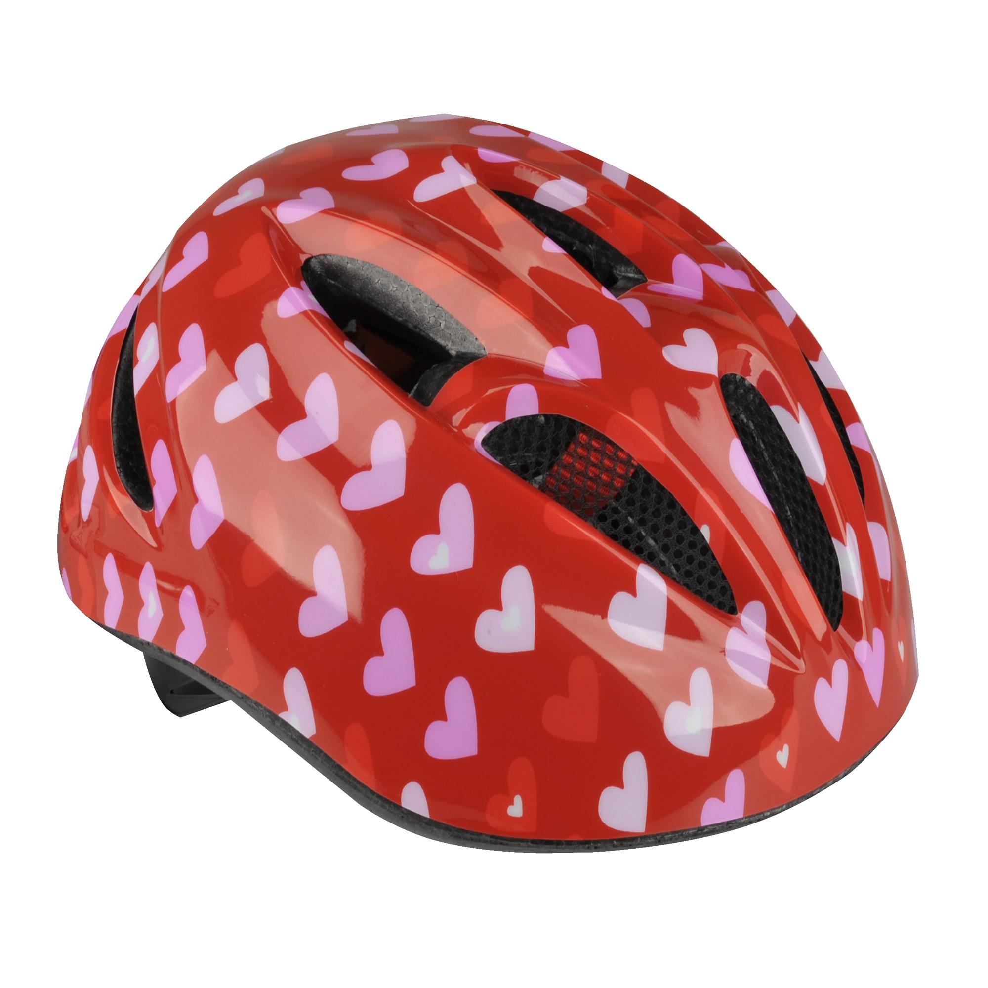 Fischer Fahrradhelm Kinderhelm Herz Gr XS S Bild 1