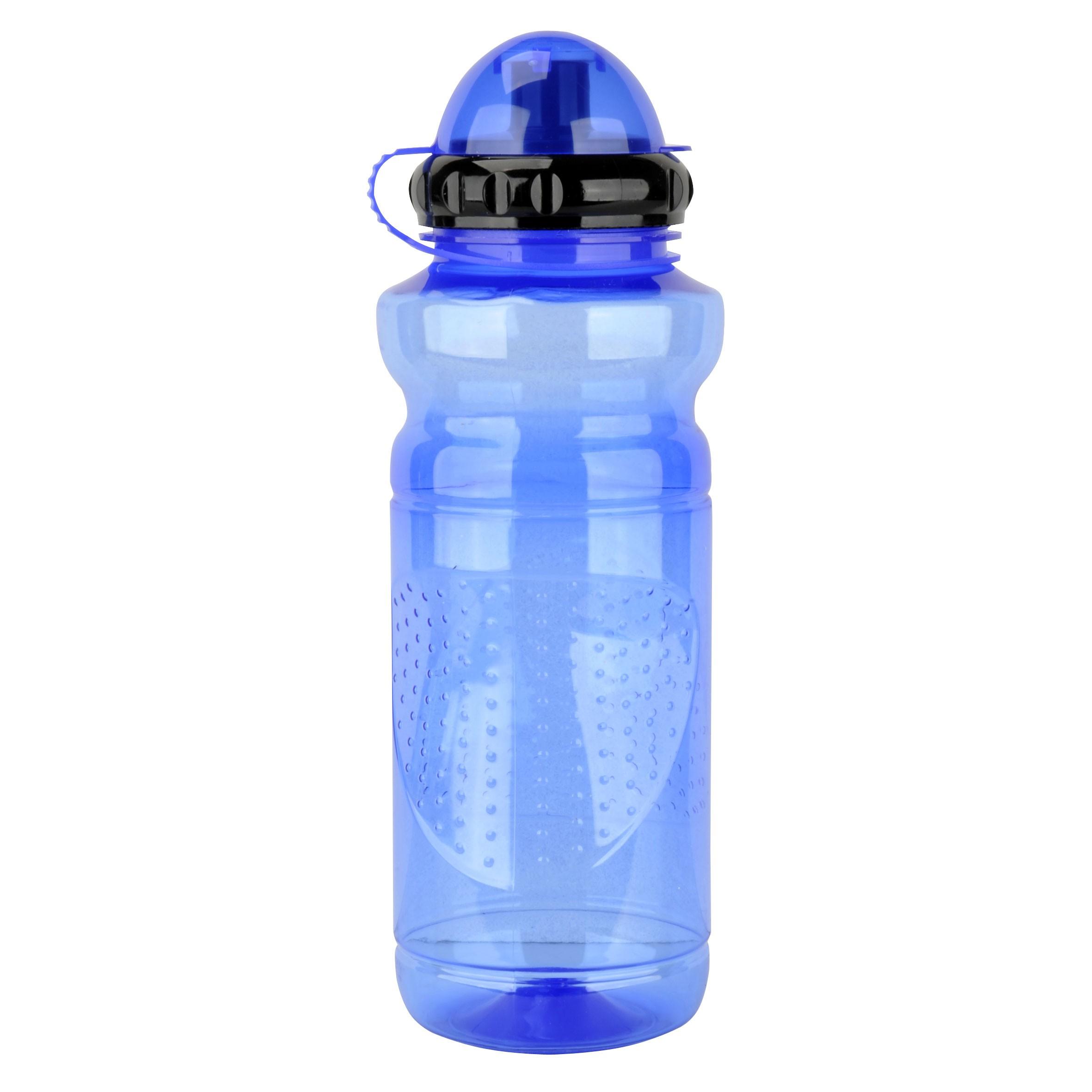 Fischer Fahrrad Trinkflasche Kunststoff blau 700ml Bild 1