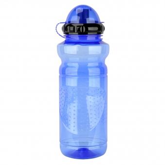Fischer Fahrrad Trinkflasche Kunststoff blau 700ml