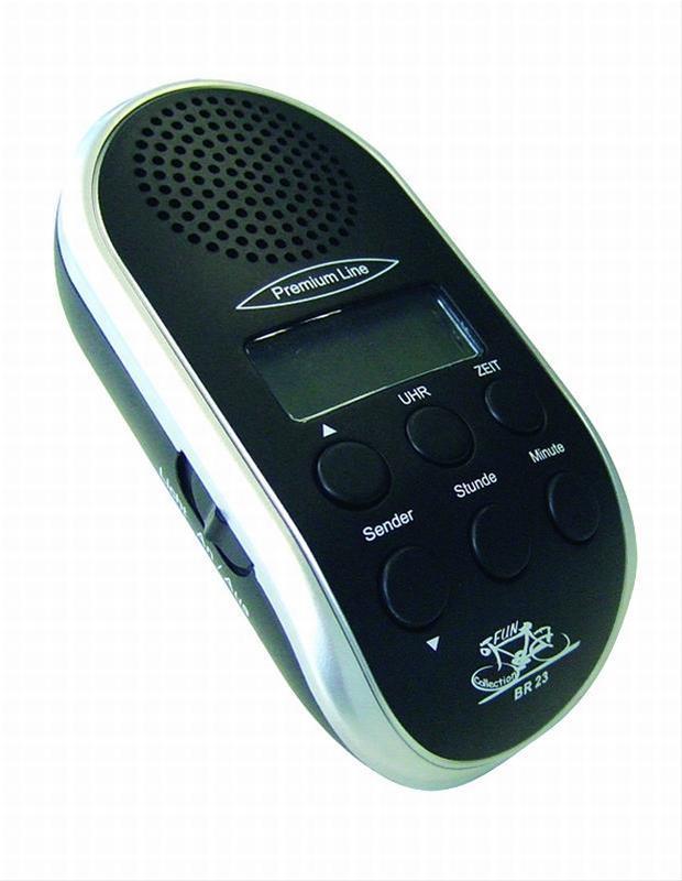 Tipfinder UKW Fahrradradio schwarz Bild 1