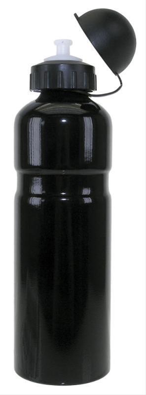Trinkflasche Alu 0,75ltr schwarz Bild 1
