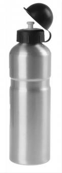 Trinkflasche Alu 0,75ltr  silber Bild 1