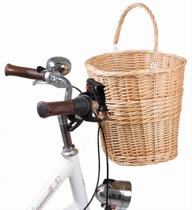 Fahrradkorb / Weidenkorb M-Wave Bild 1