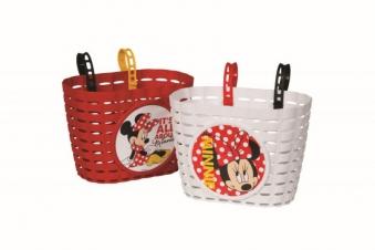 Kinder Fahrradkorb / Einkaufskorb Minnie Mouse farbig sortiert Bild 2
