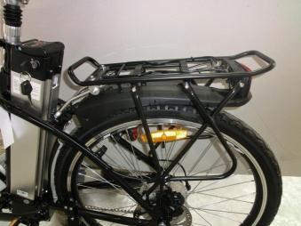 Powerpac Gepäckträger für Elektrofahrrad / E-Bike Mountainbike Bild 2