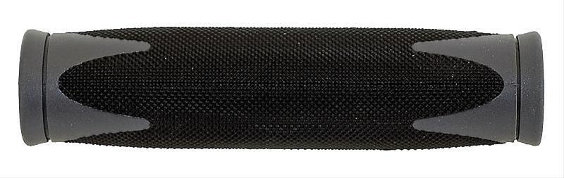 Fahrradgriffe / Griffe Point Racing D2 Diamant-Profil schwarz/grau Bild 1