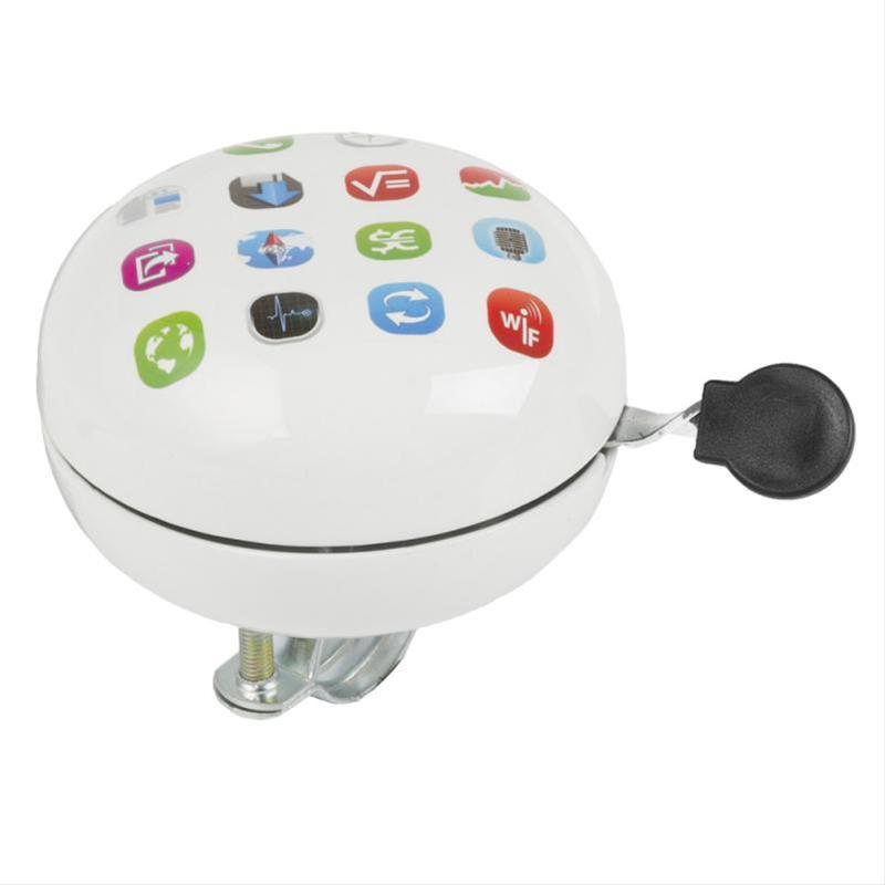 Fahrradklingel M-Wave Glocke Zweiklang Ding Dong Apps Bild 1