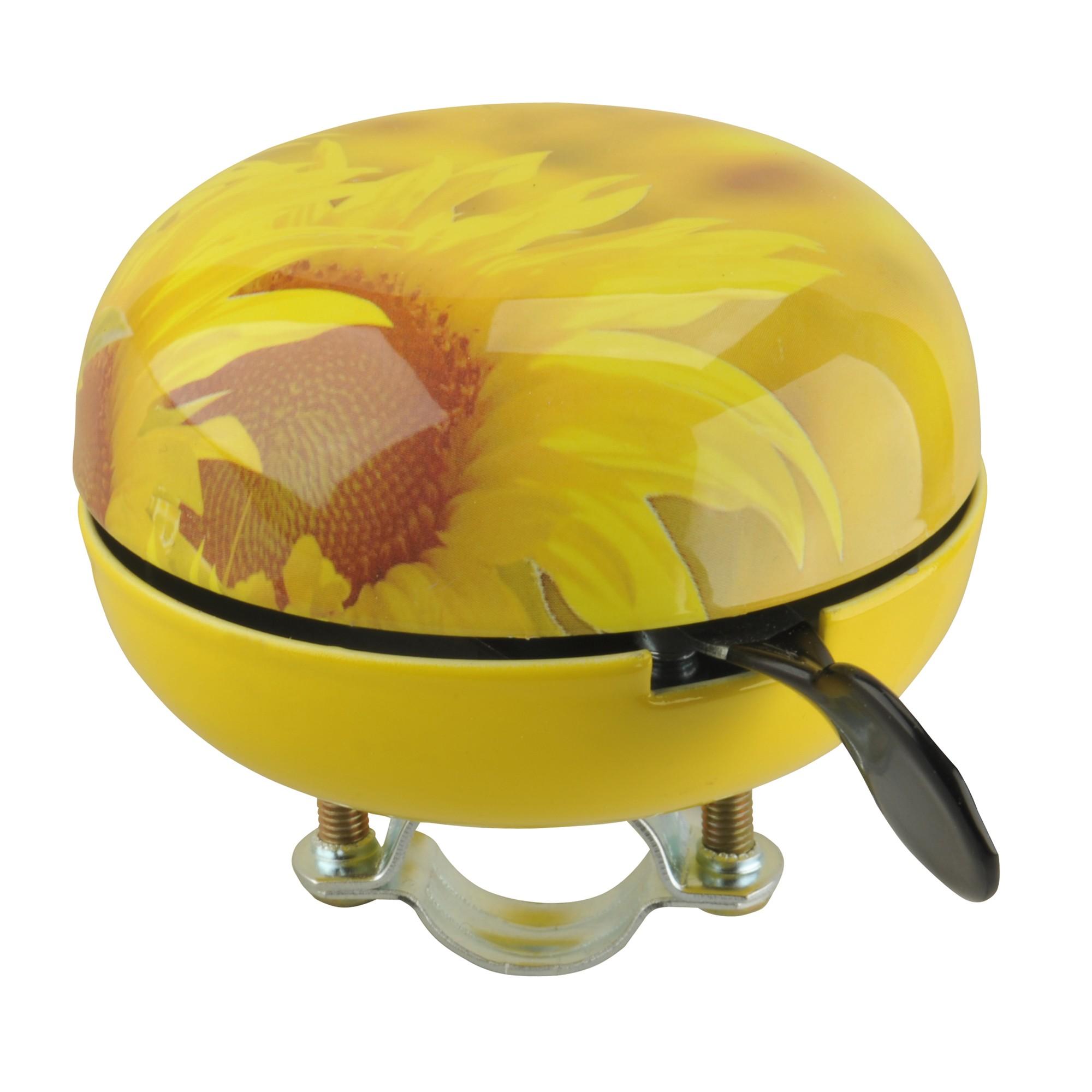 Fischer Fahrradklingel Glocke Maxi Sonnenblume Bild 1
