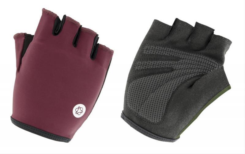Fahrradhandschuhe / AGU Handschuhe Essential Gel Gr. M schwarz-burgund Bild 1