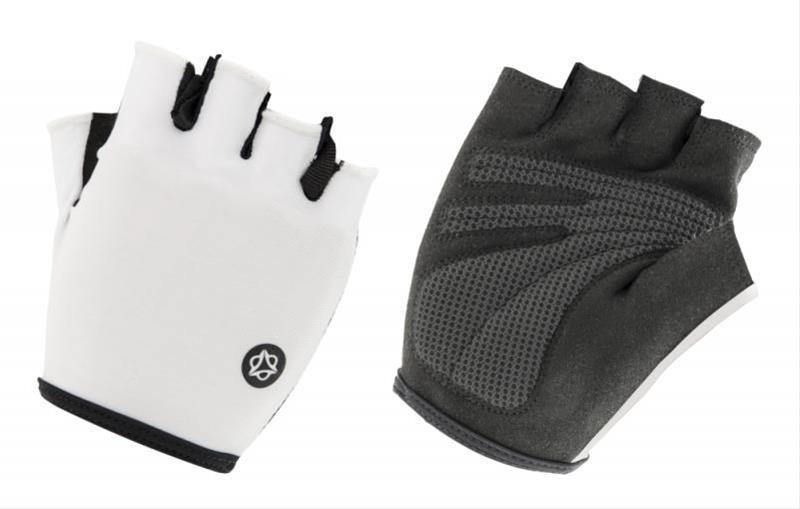 Fahrradhandschuhe / AGU Handschuhe Essential Gel Gr. S schwarz-weiß Bild 1